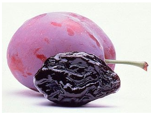 prune dried plum