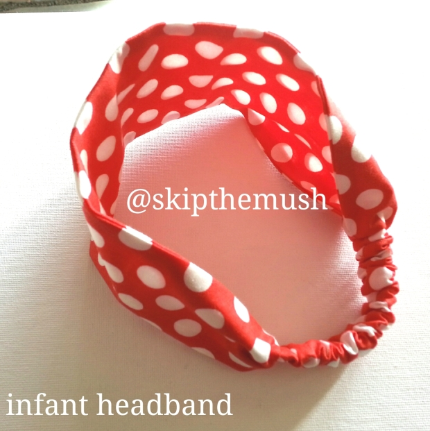 mini mouse red and white headband1