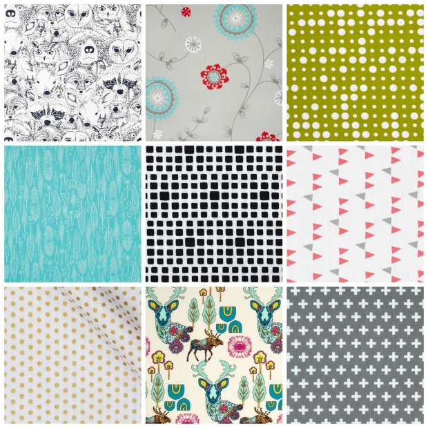 2015 summer fabric crib sheets