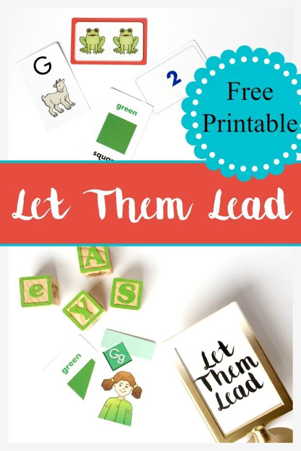 let them lead pinterest printable