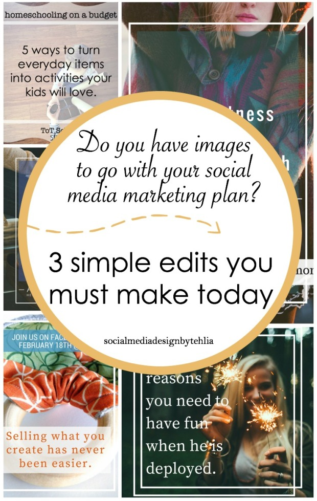 pinterest social media marketing photo edit collage
