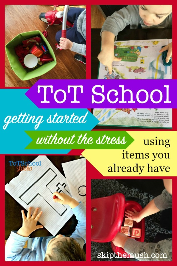 Tot School getting started