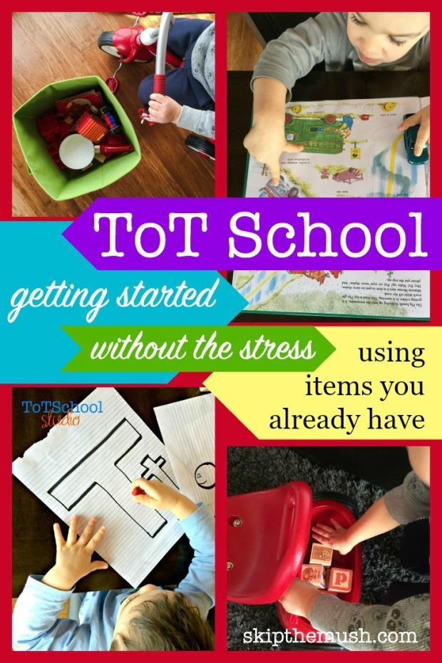 Tot School getting started