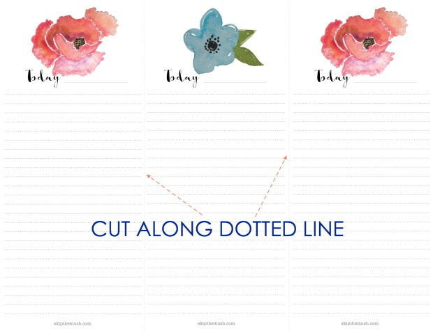 CUT ALONG DOTTED LINE