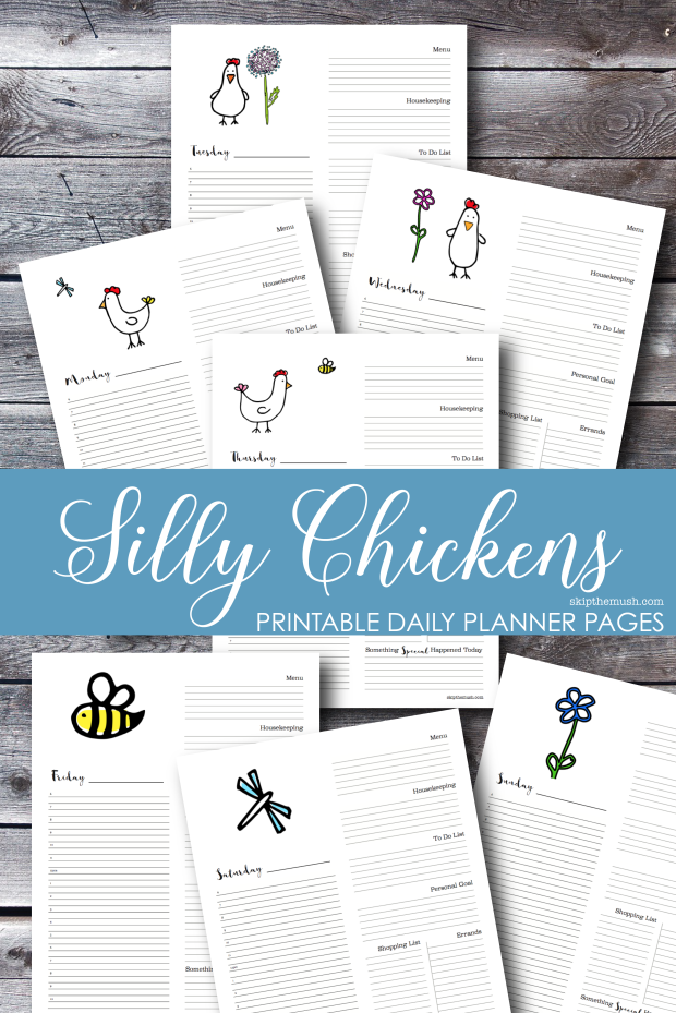 silly chicken daily planner-01