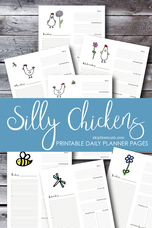 silly chickens daily planner-01
